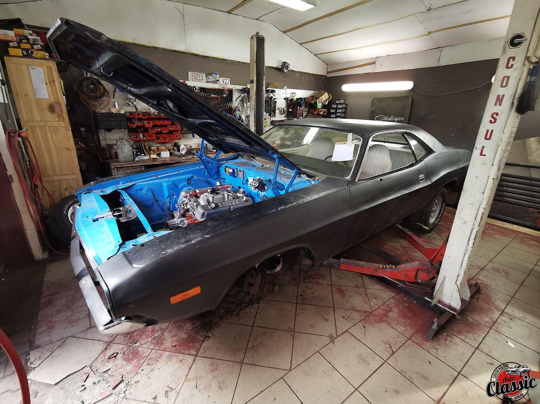 1973 Dodge Challenger – renowacja