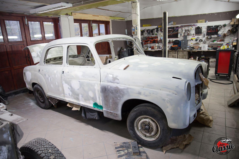 Kompletna renowacja Mercedes Benz Ponton W120