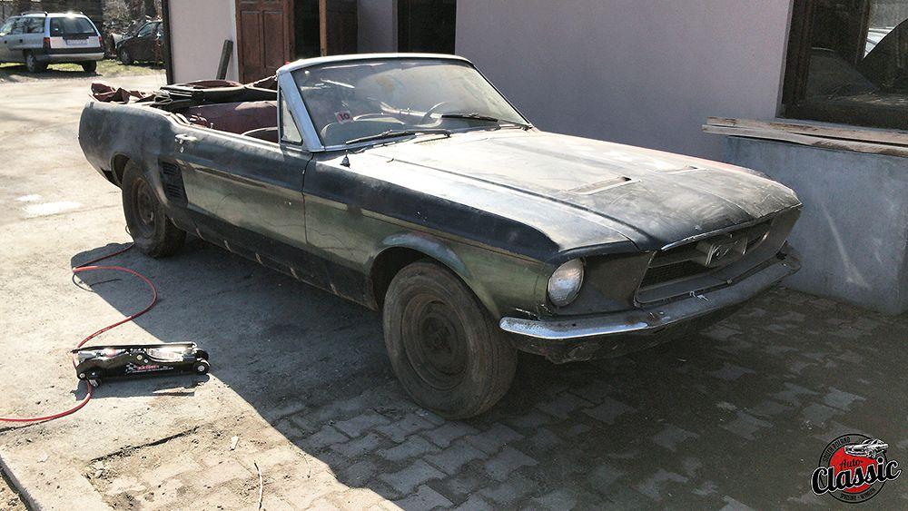 Kompletna renowacja Ford Mustang cabrio 1967r 428