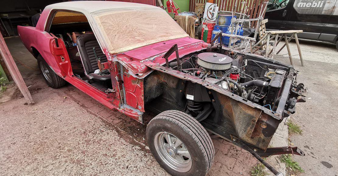 Odnowa Forda Mustanga 1966r.