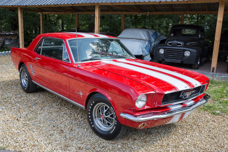 Renowacja samochodu Ford Mustang 1966r.
