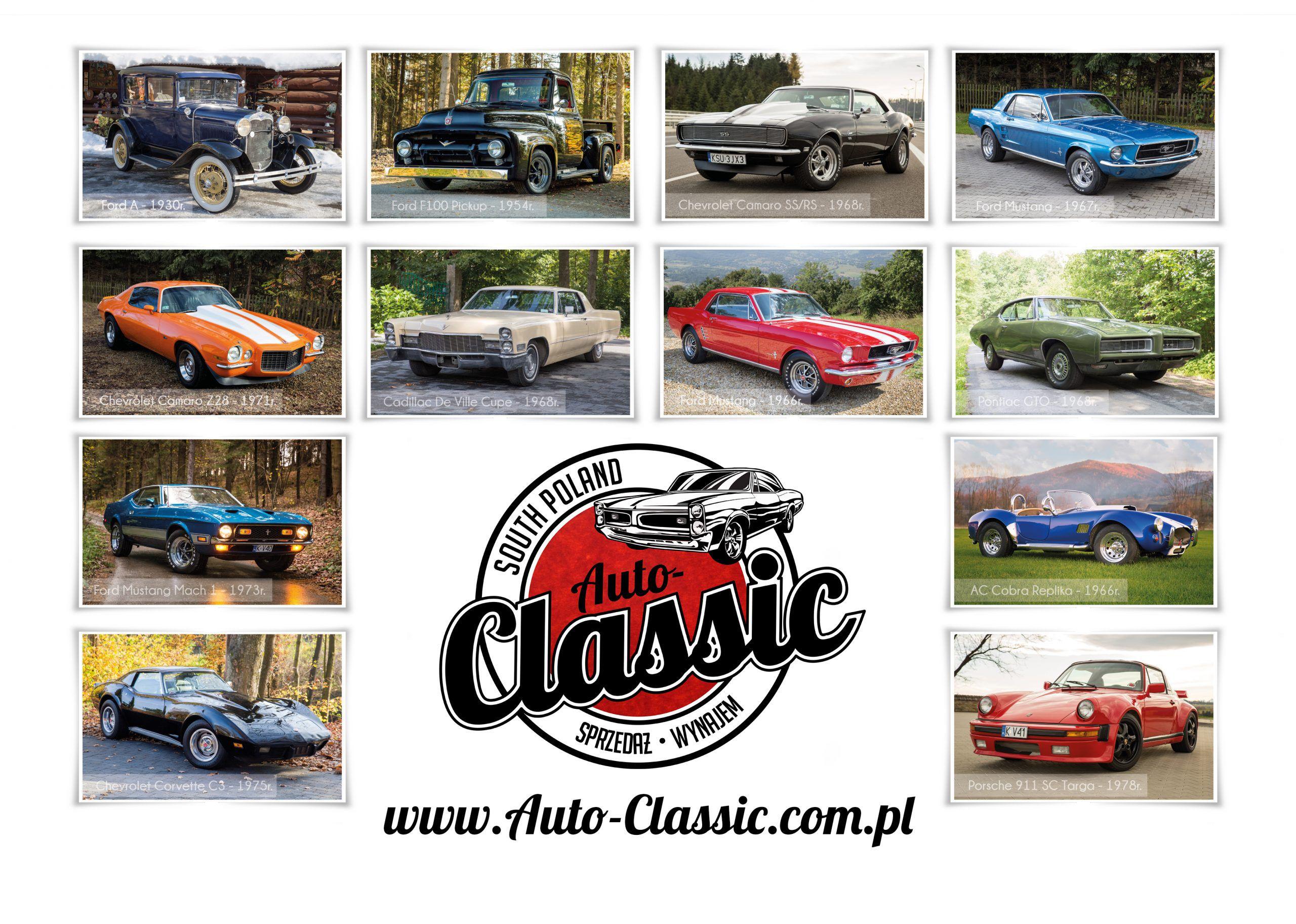 Kalendarz 2020 Auto-Classic