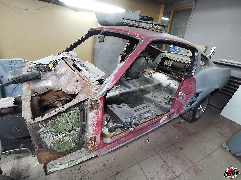 Renowacja klasyka – Ford Mustang Fastback 1967