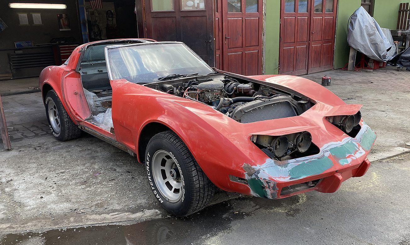 Renowacja Chevrolet Corvetta C3 stingray 1979r.