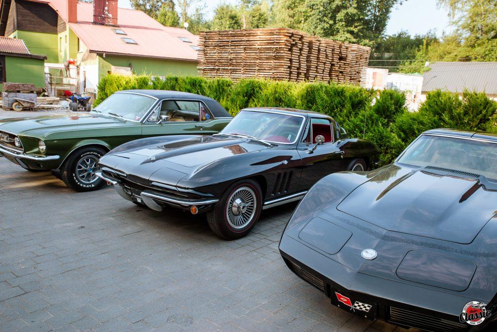 klastki amerykańskiej motoryzacji chevrolet corvette c2 i c3