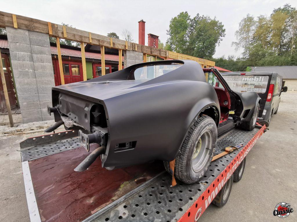 renowacja chevrolet corvette c3 75