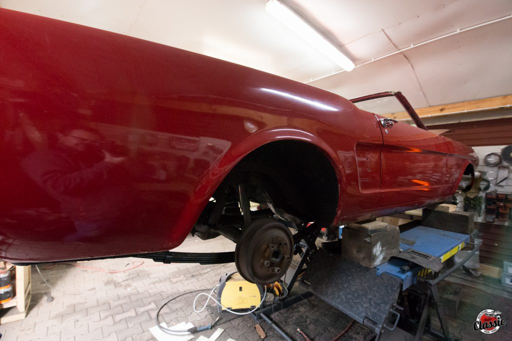 ford mustang 66 odnowa renowacja