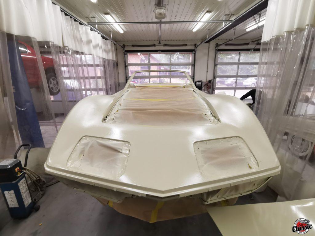 renowacja chevrolet corvette c3 w auto classic