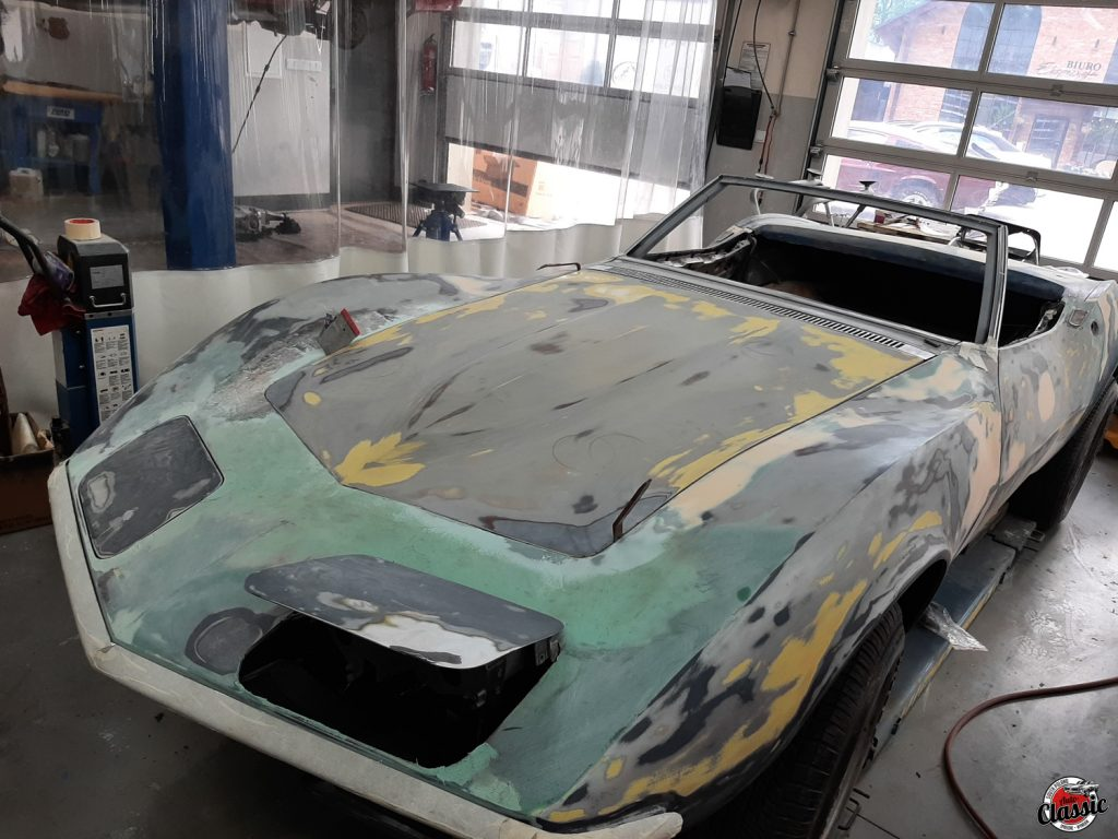 warsztat auto classic chevrolet corvette C3