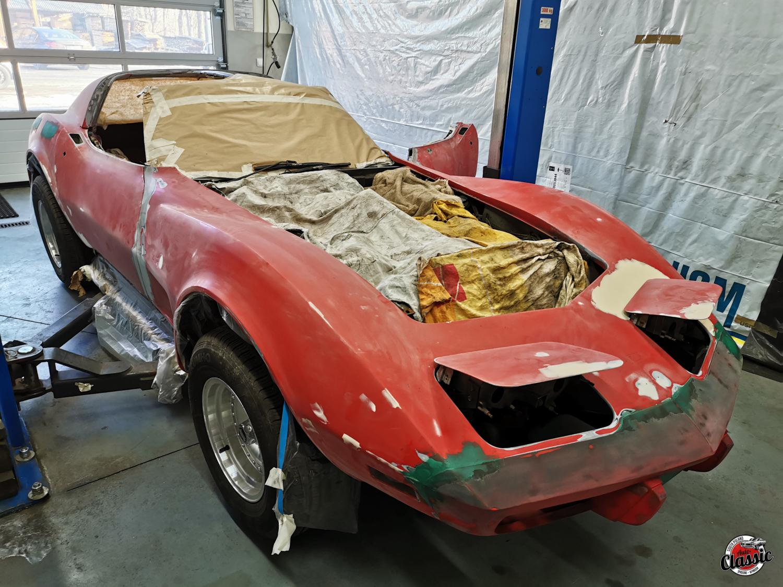 Chevrolet Corvette C3 odnowa