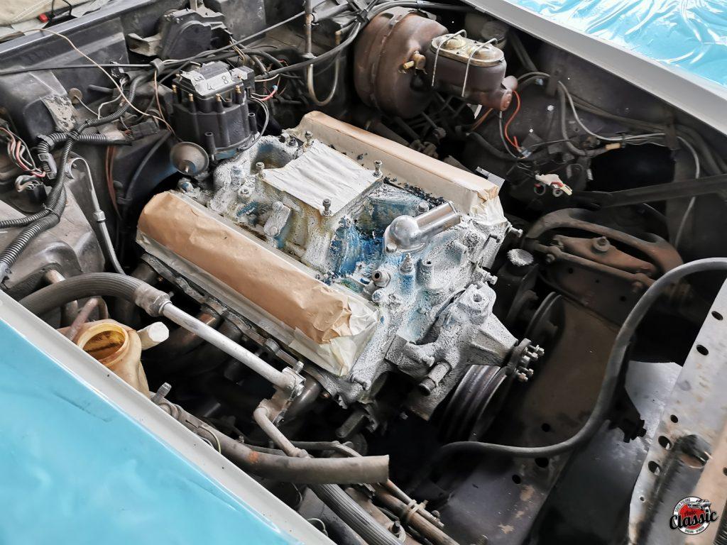 Odnowa Chevrolet Corvette C3 1977