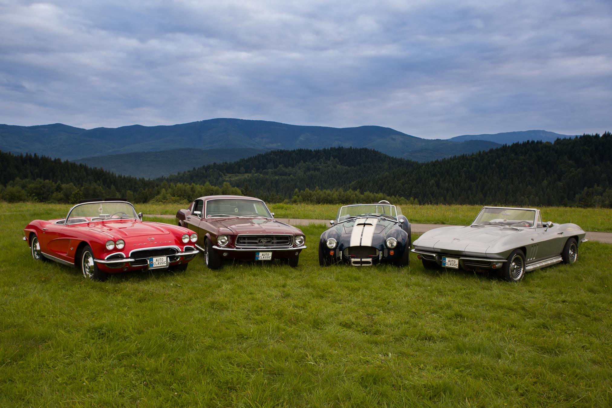 klasyki z ameryki usa cars