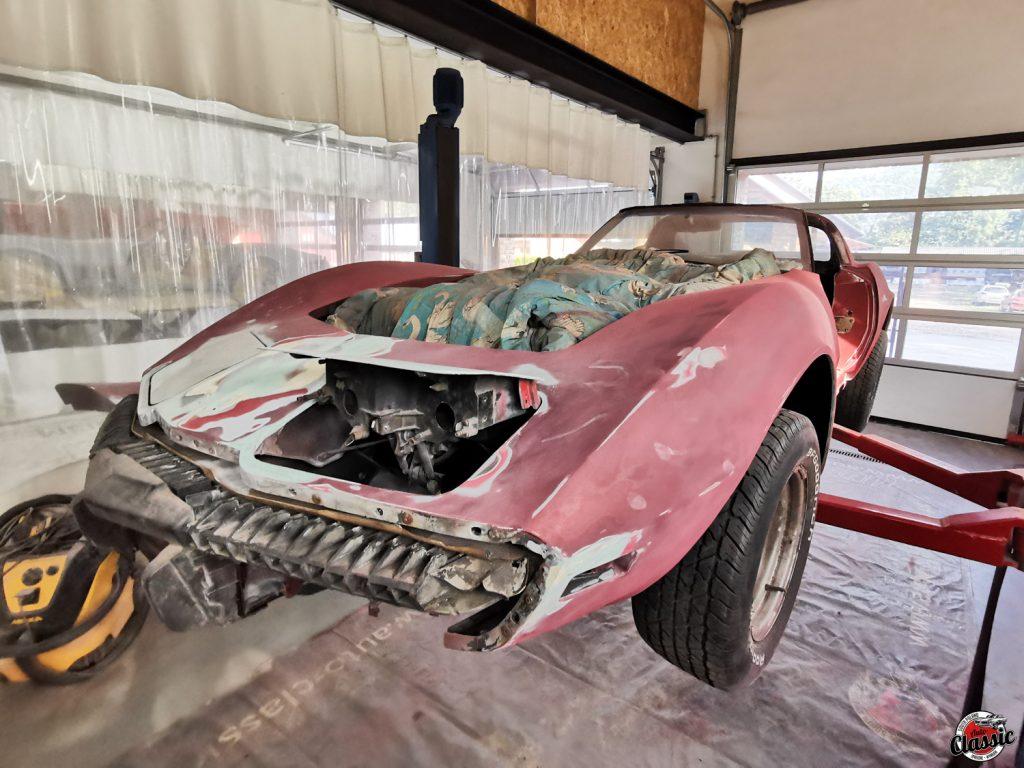 Renowacja chevrolet corvette c3