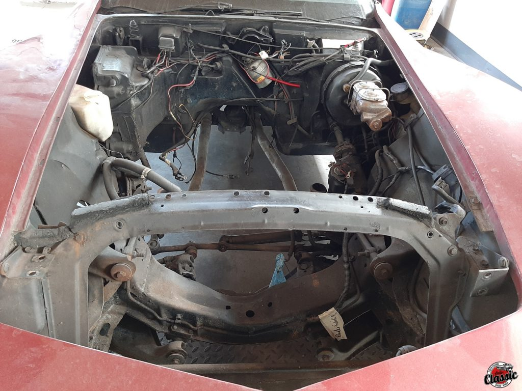 Odnowa Chevrolet Corvette C3 1977r.