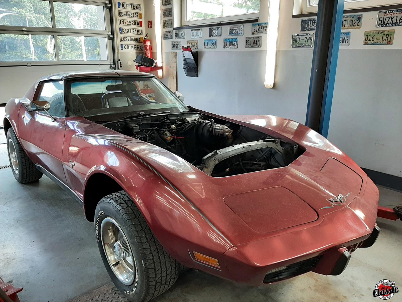 Odnowa Chevrolet Corvette C3