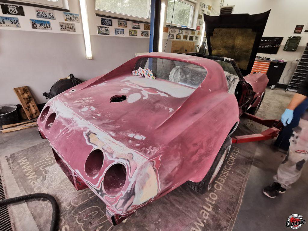 Chevrolet Corvette C3 renowacja Auto Classic Garage